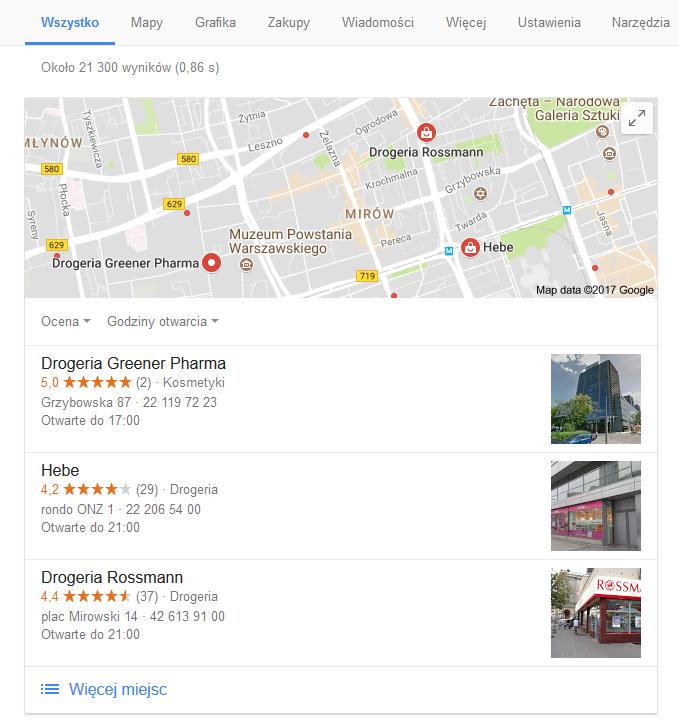 wizytówka google - jak zrobić google moja firma